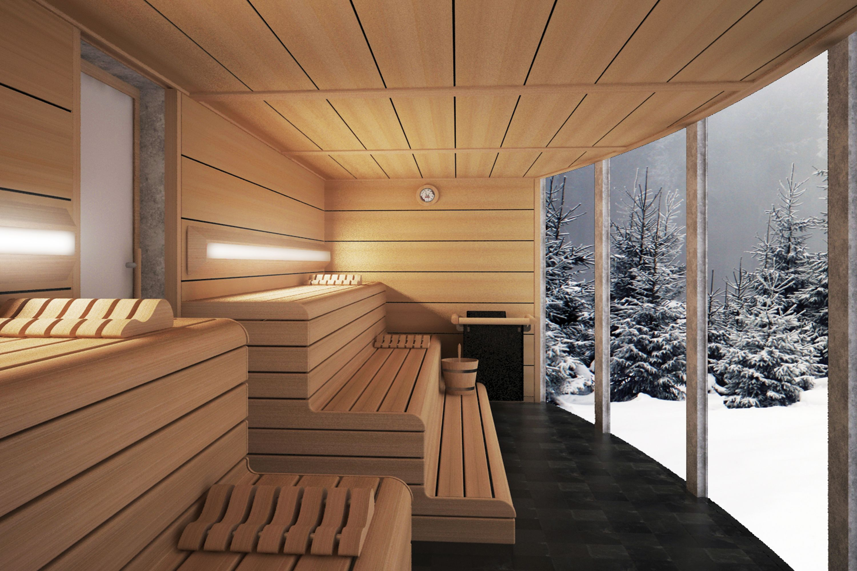La Misma Esencia De La Sauna Finlandesa Ancestral Con El Diseno