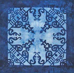 Victorian gingerbread quilt by Janice Lee Baehr | Blue quilts ... : victorian style quilts - Adamdwight.com