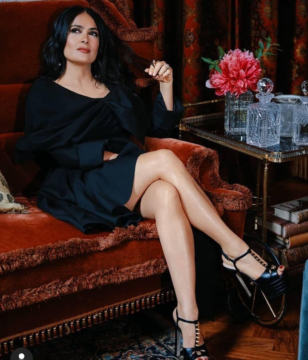 Salma Hayek Füße