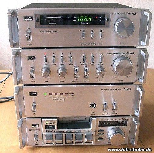 Aiwa Serie 22 - Aiwa Minianlage #audiovideo