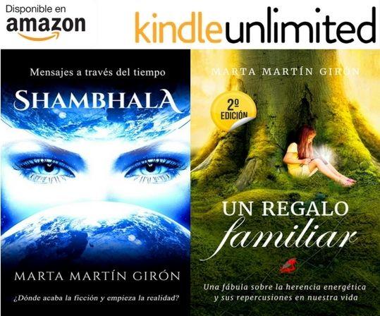 GRATIS con #KindleUnlimited       · Entre la ficción y la realidad.      · Entre el pasado y el presente.      · Entre la espiritualidad y el amor.  🕉️ UN REGALO FAMILIAR 🕉️ Una novela que te ayudará a entender, mediante tus #ancestros, el presente. http://rxe.me/LO6KI38                      .-.-.-.-.-.-.-.-.-.-.-.-.-.-.-.  🕉️ SHAMBHALA  🕉️ ¿Es posible el contacto #extraterrestre a través de #sueños lúcidos o viajes astrales? Novela participante en la 4ª edición del #PremioLiterario2017 de A
