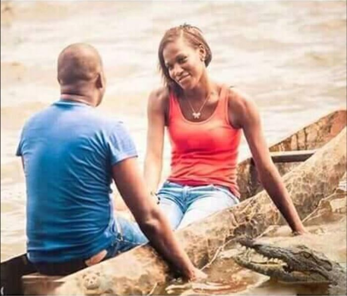 Love Is Blind But The Croc Is Not Jokes Pics Humor Funny Jokes