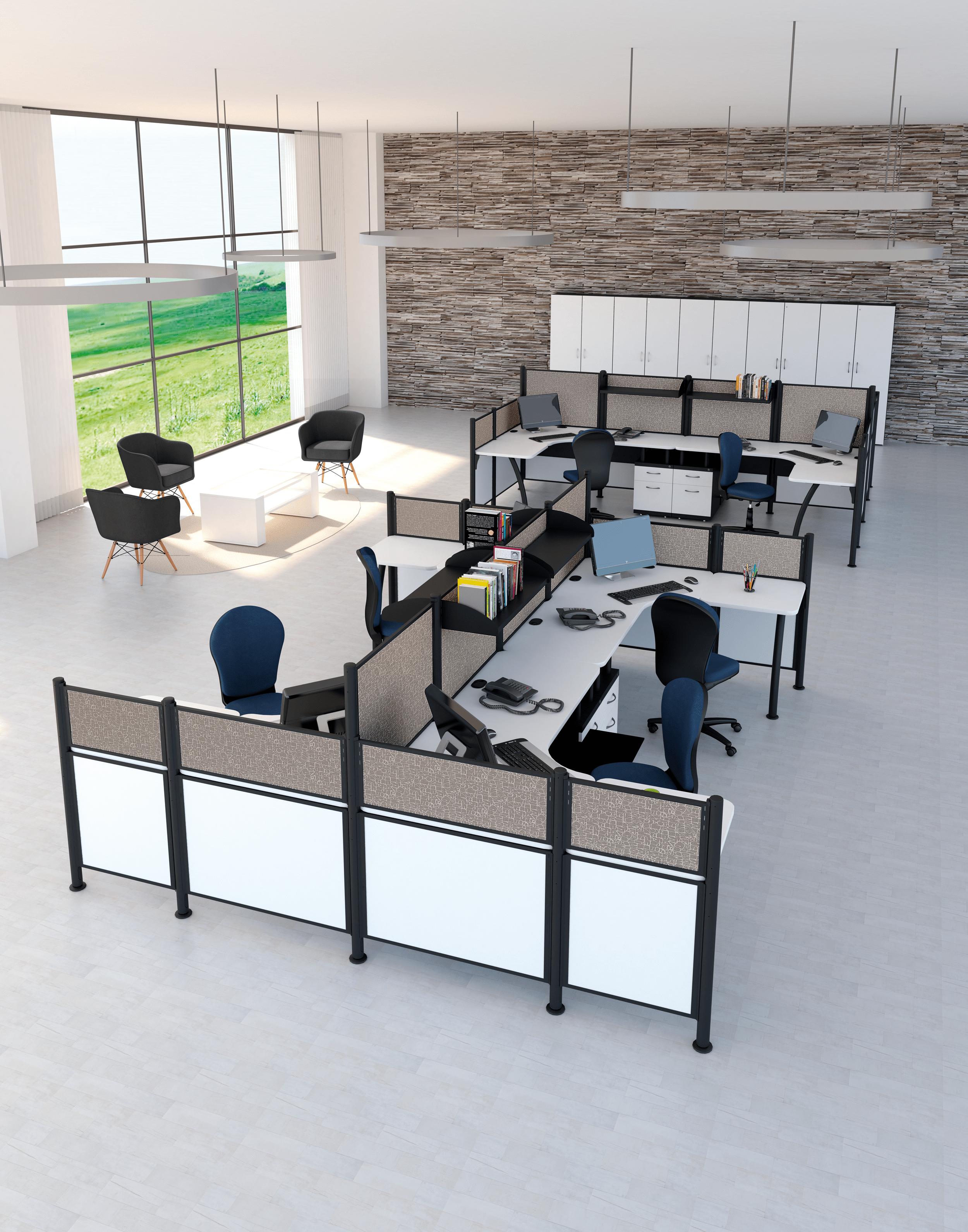 Haz Que Tu Oficina Luzca M S Grande Y Moderna Con La L Nea De  # Muebles Modulares Para Oficina