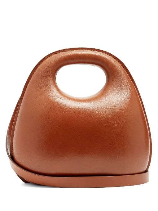 4d4abf915026 Sacs À Main · Bottega Veneta · Lemaire Egg leather cross-body bag