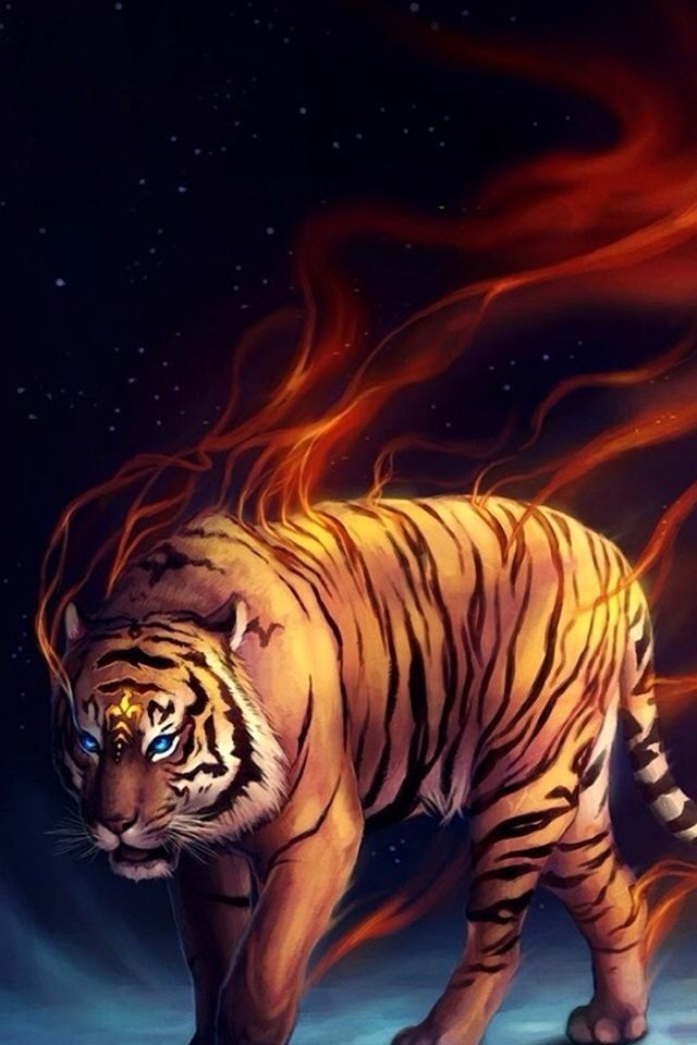 Pin by Kiwi C on Cats Tiger art, Tiger wallpaper, Ipad