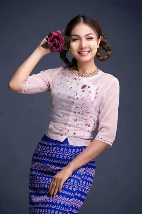 Myanmar Beautiful Girl - Kamasutra Pic-7373