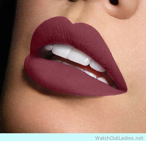 Really Matte Lips In Wine Colour Lip Colors Sephora Beauty Lipstick Makeup
