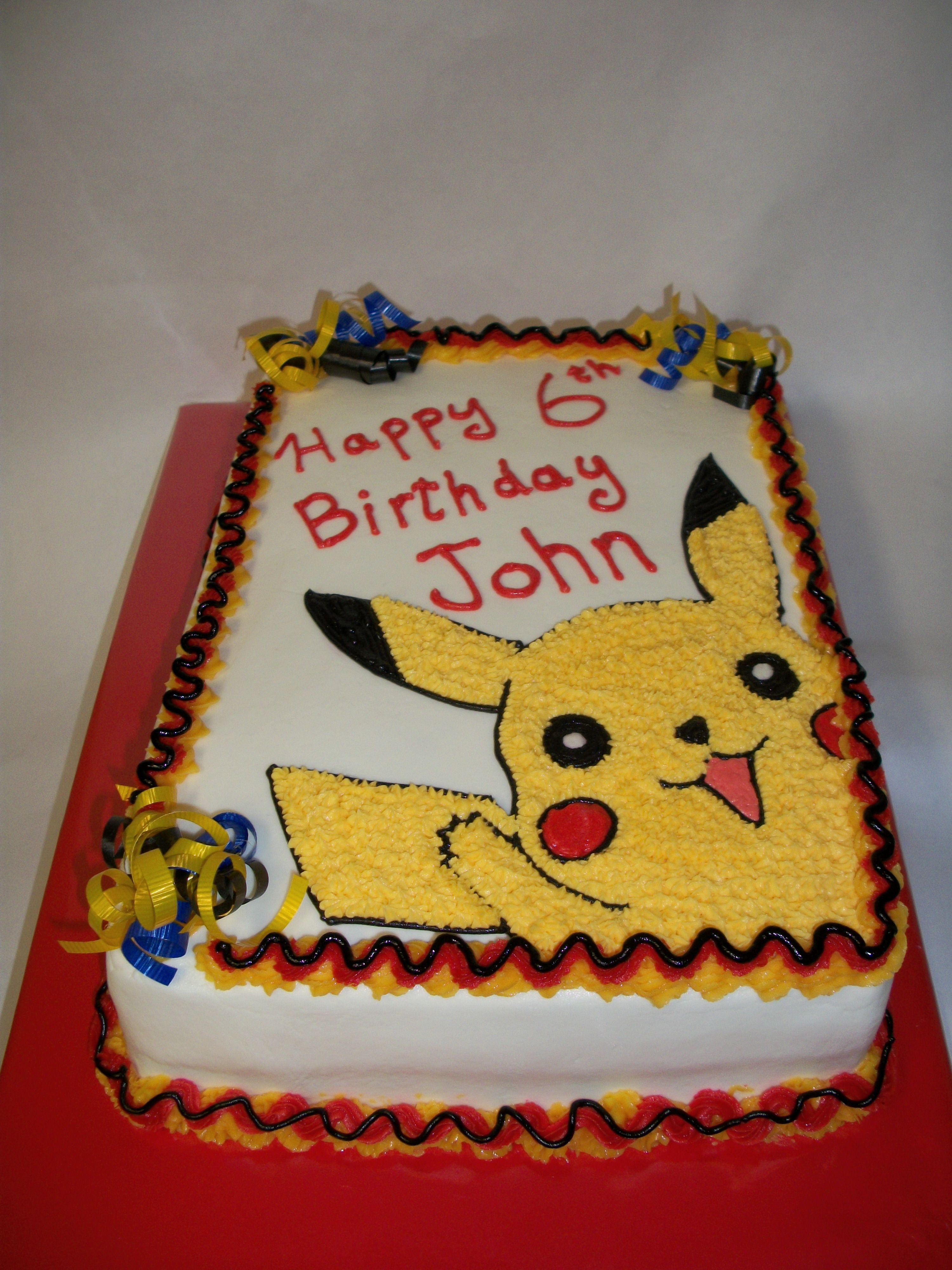 Pokemon cake pictures pokemon cake 75th birthday ideas pinterest cake pictures pok mon - Decoration gateau pokemon ...