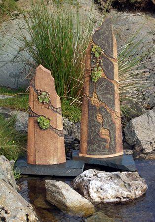 Nigel Edmonson Garden Pottery Garden Whimsy Garden Art
