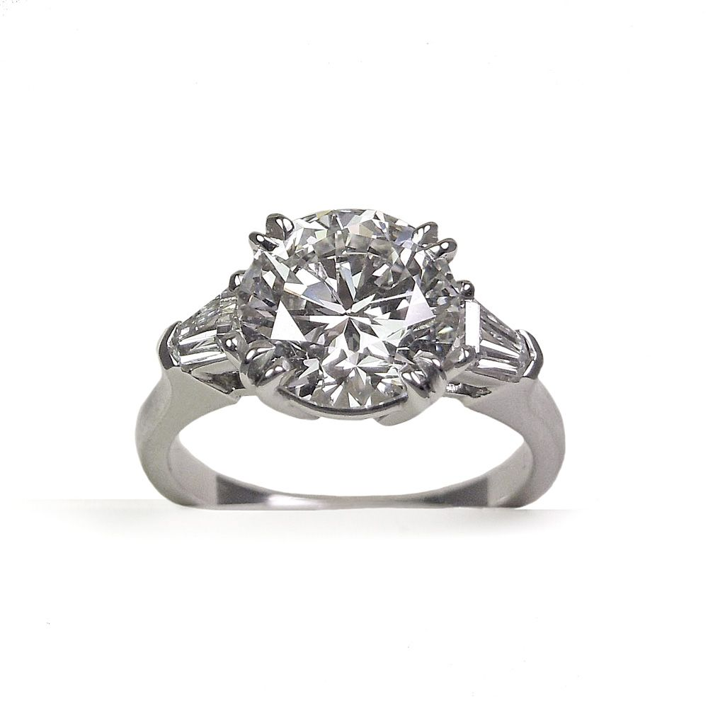 three rings round two engagement london bullet stone by ring diamond