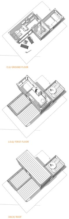 Minimal House Plans minimal house 3x20ft | 2x20ft | container drawings, floor plans