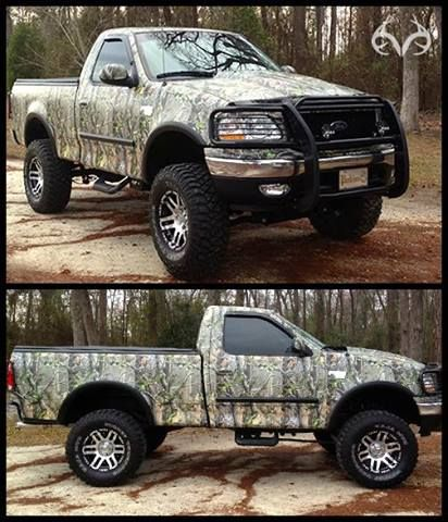 Realtree Paint Job Be Better If It Was On A Dodge Camo Truck Lifted Ford Trucks Camo Baby Stuff
