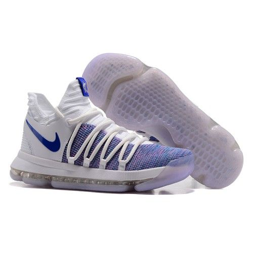 premium selection d4d31 dfeed ... nike kevin durant kd 10 basketball shoes white blue
