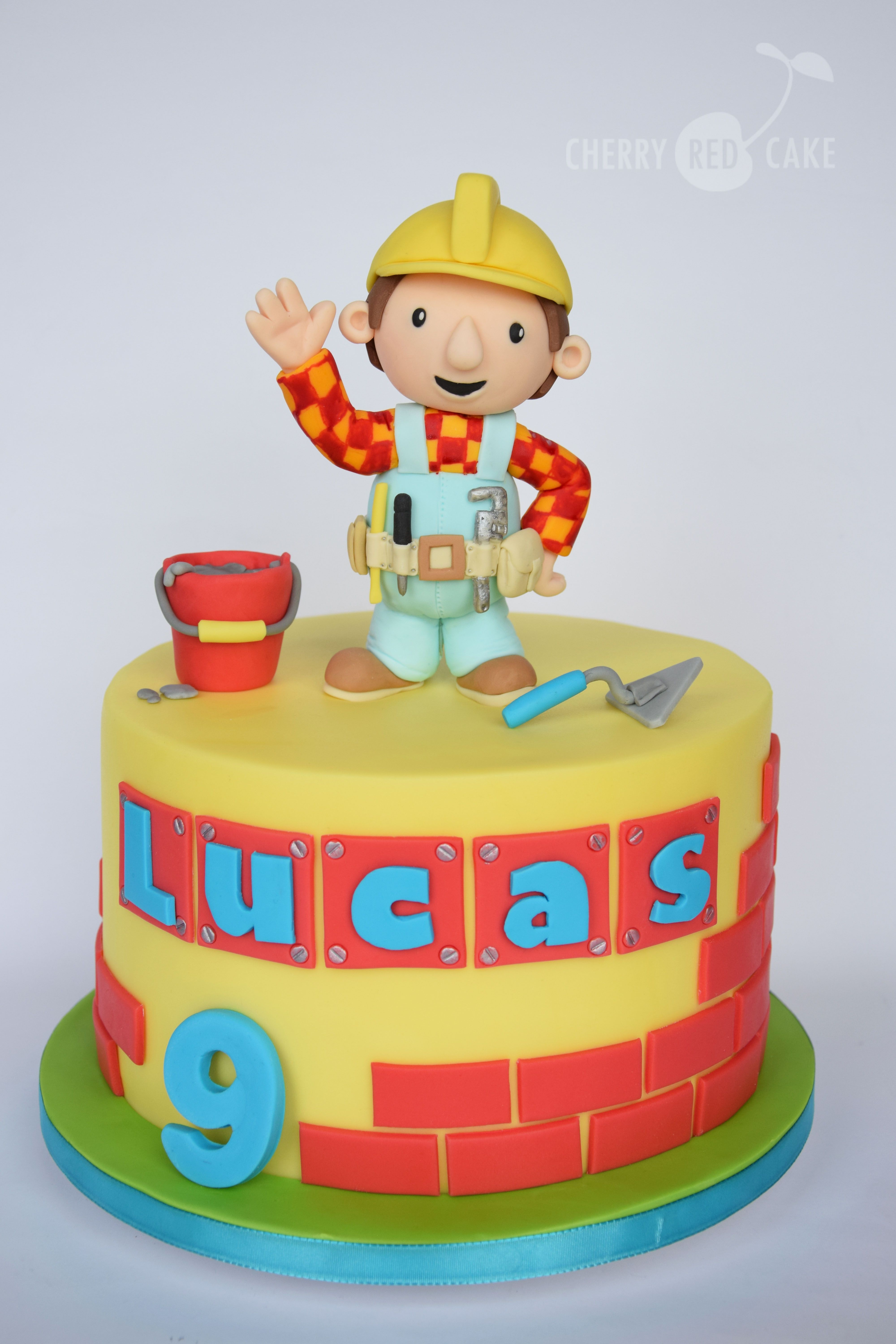 Bob The Builder Cake With Images Bob The Builder Cake