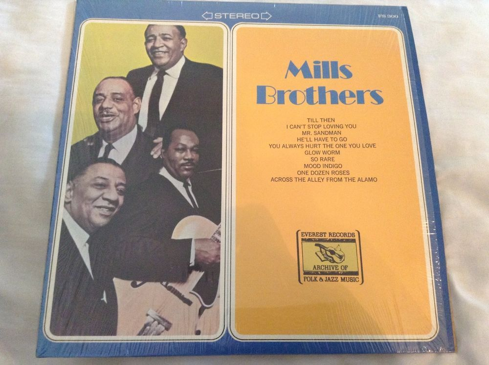Mills Brothers, Self Titled, Lp Vinyl, FS 300