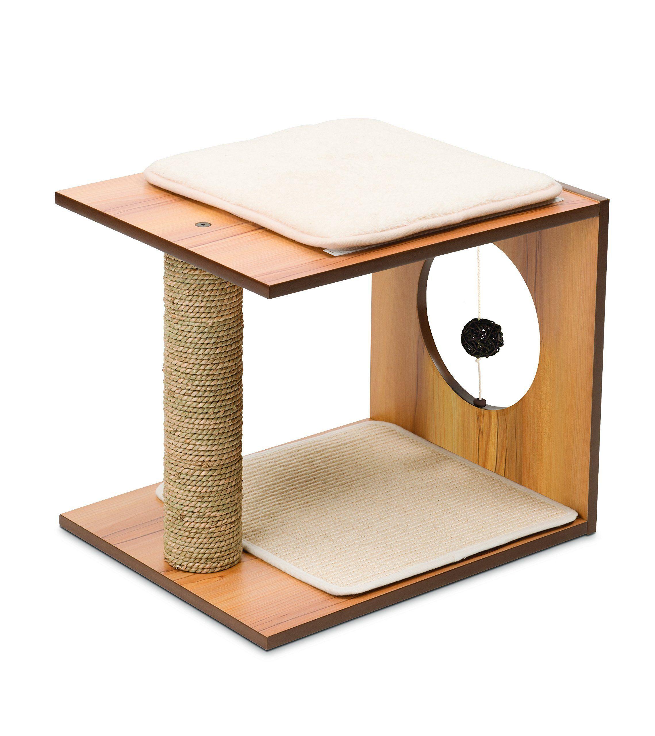 Vesper VStool Walnut Stool, Play furniture, Cat scratcher