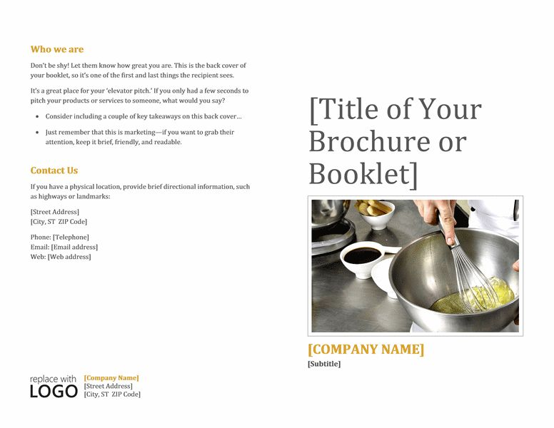 Booklet Template For Word -   wwwvalery-novoselskyorg/booklet - booklet template word