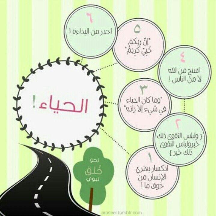 الحياء Islamic Wallpaper Greatful Islam
