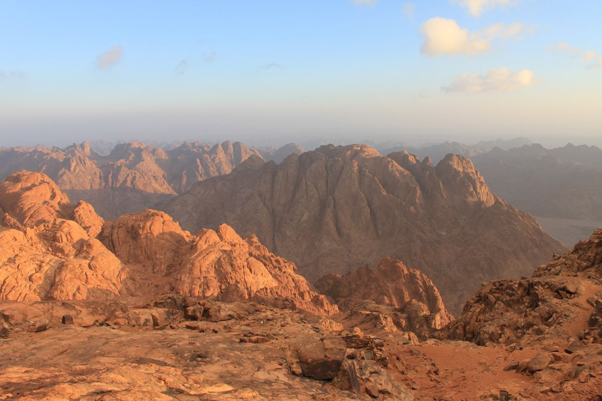 Mount Sinai. Location of God giving the Law to Moses