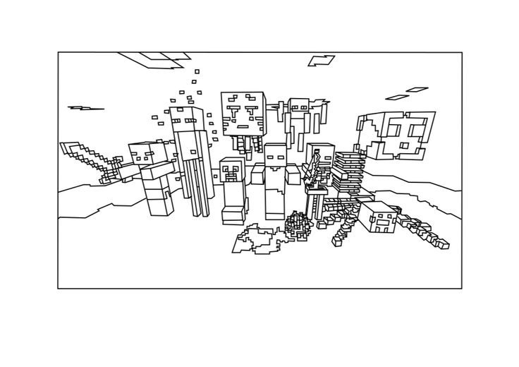 Minecraft Ocelot Coloring Pages Minecraft Coloring Pages
