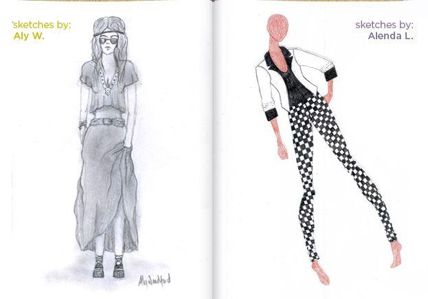 Sketch Contest Fashion Sketches Sketches Design Sketch