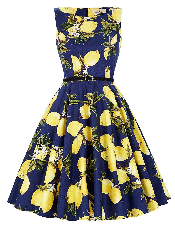 Schöne festliches kleid festliches Kleid blumenmuster sommerkleid ...