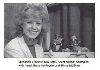 The Children's Hour on KY3 with Aunt Norma, Rusty Rooster