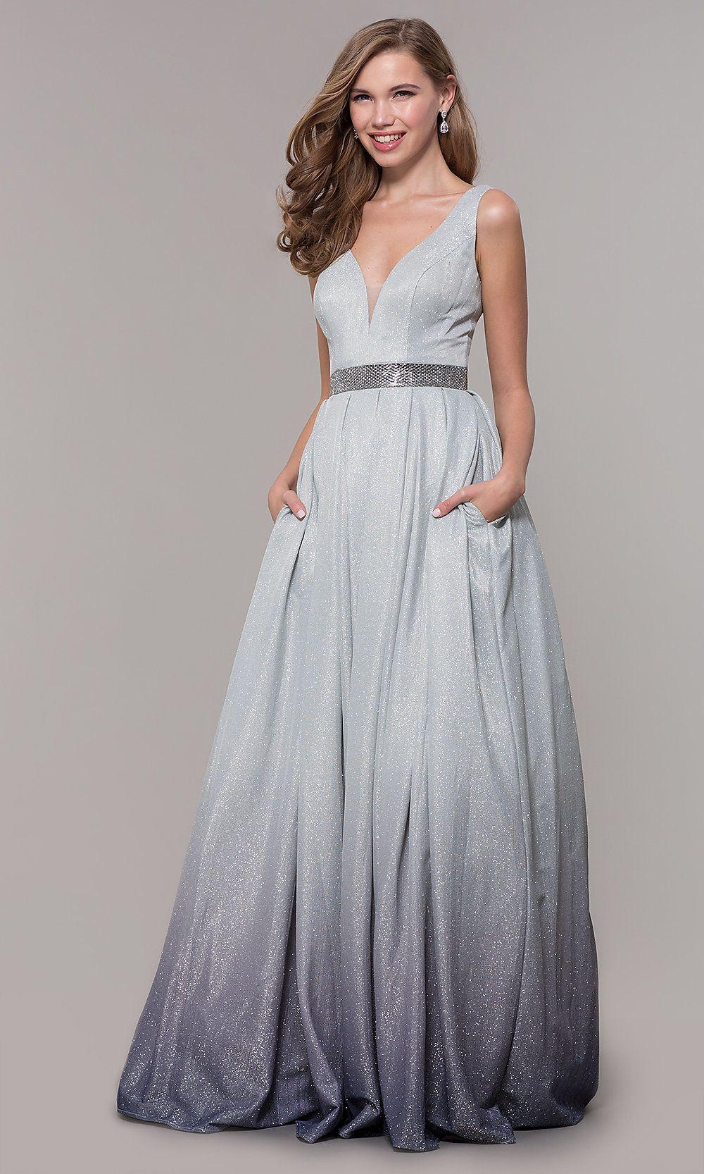 7cbfd0382f5 Grey Ombre Prom Dress - Gomes Weine AG
