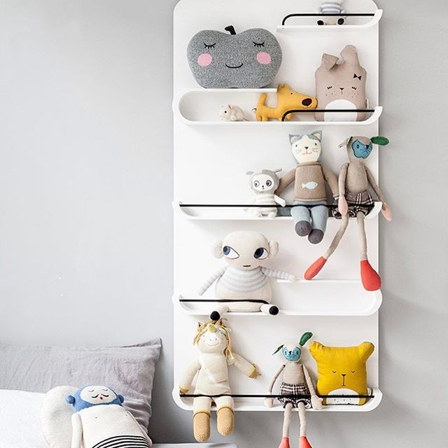 XL Shelf from @rafakids, the largest of the Rafa-Kids shelves   from DKK 1349. Shop link in bio.  #studiominishop #rafakids #xlshelf #kidsfurniture #kidsroom #kidsroomdecor #kidsinterior #hylde #hyldetilbørneværelset #børnemøbler #børneværelse #børneværelseinteriør #børneværelseinspiration