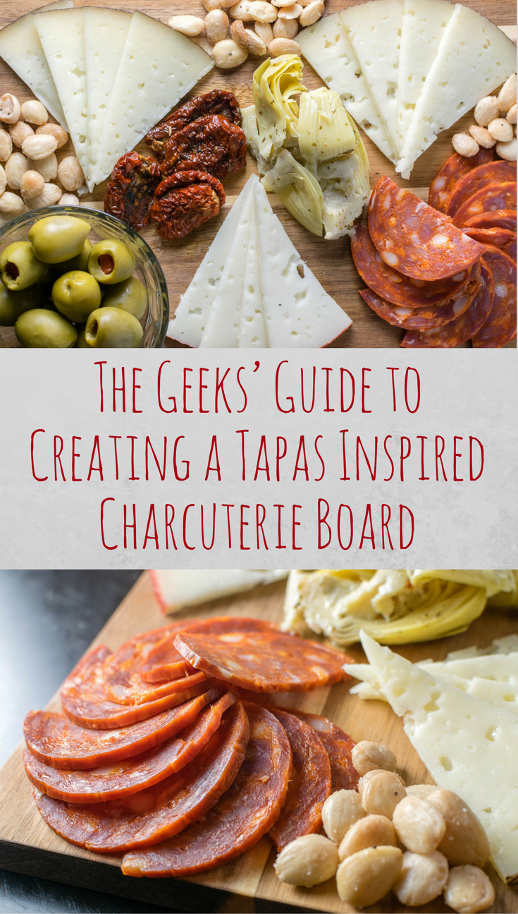 Photo of The Geeks' Guide to Creating a Tapas Inspired Charcuterie Board