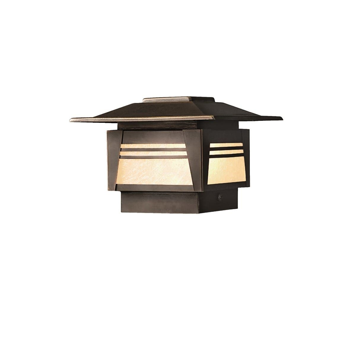 Kichler Zen Garden 7 12v Step Light In Olde Bronze Garden Post Lights Landscape Lighting Outdoor Lighting Landscape