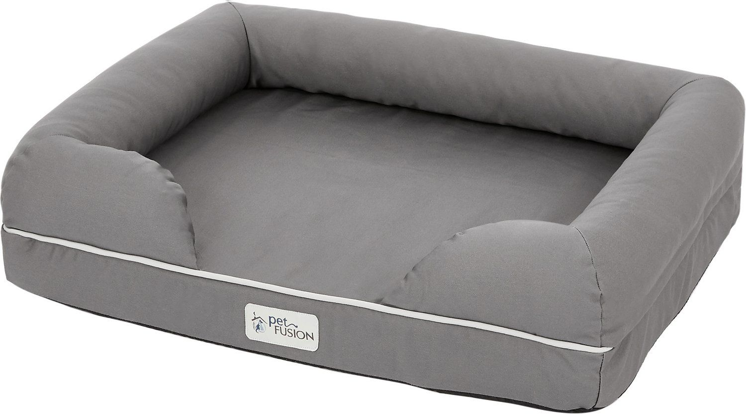 PetFusion Ultimate Lounge with Solid Memory Foam Dog & Cat