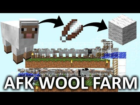 Youtube Minecraft Farm Minecraft Projects Minecraft Sheep