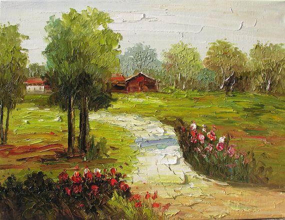 Pittura a olio originale fatto per ordine di ArtPaintingsMP