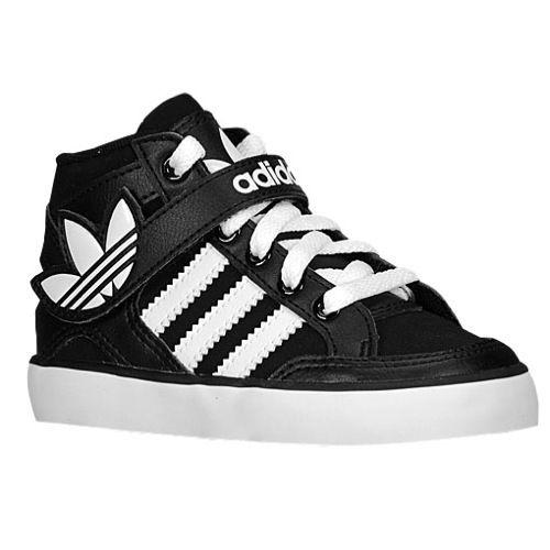 new concept 8a15a 4f7af adidas Originals Hard Court Hi Strap - Boys  Toddler at Foot Locker