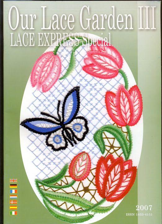 Lace Express - Especial 2007 Our Lace Garden III - Isabel Delgado - Веб-альбомы Picasa