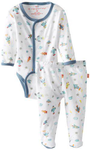 Magnificent Baby Baby-Boys Newborn Long Sleeve Burrito and Pants Set, Rockets, 9 Months Magnificent Baby http://www.amazon.com/dp/B00E0G37EQ/ref=cm_sw_r_pi_dp_5Qrdvb066THWQ
