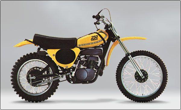 1975 Yamaha Yz250 The Original Monoshock Vintage Motocross