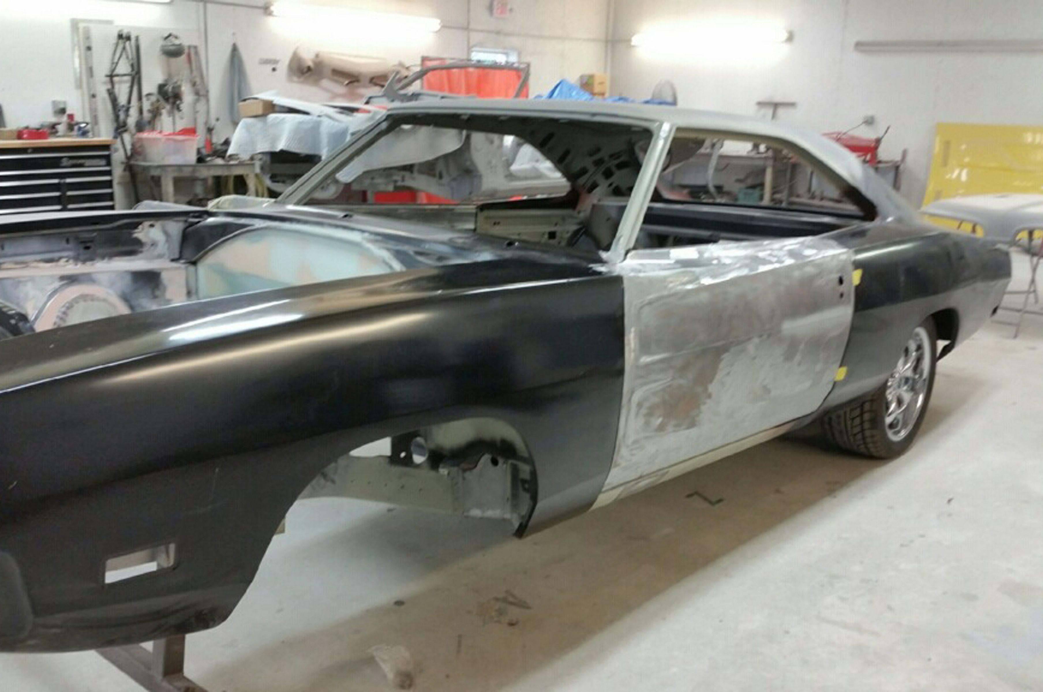 How To Aligning Mopar Body Panels Mopar Body 1969 Dodge Charger