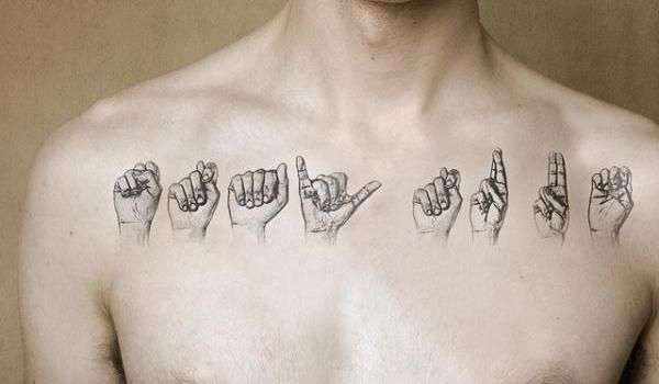 Inspirational Tattoos For Men: Body Language 25 Meaningful Tattoos For Men Which Are