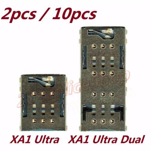 Lot Oem Sim Card Slot Holder Reader For Sony Xperia Xa1 Ultra G3221 Dual G3112 Sony Xperia Sony Dual