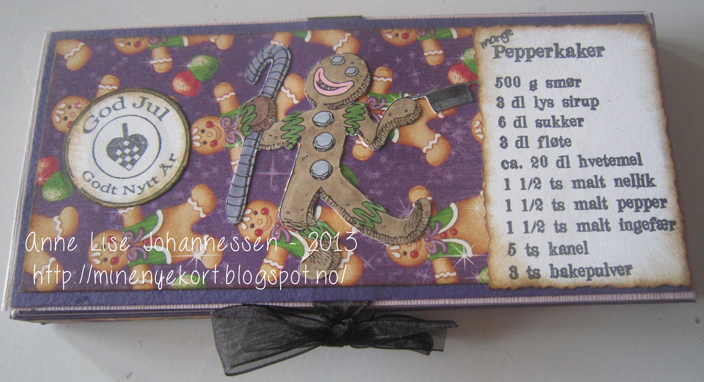 Chocolate card, make it crafty