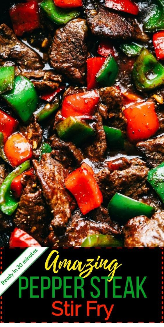 Amazing Pepper Steak Stir Fry #grilledsteakmarinades