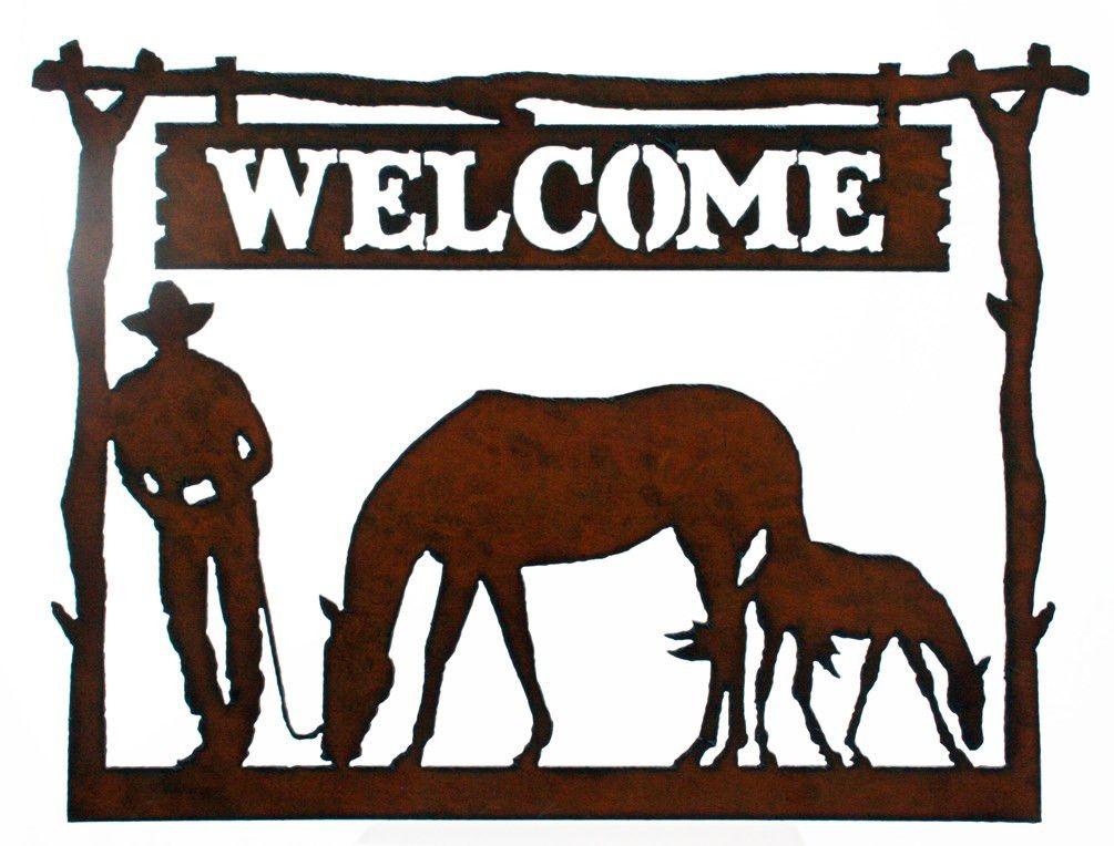 Western cowgirl signs