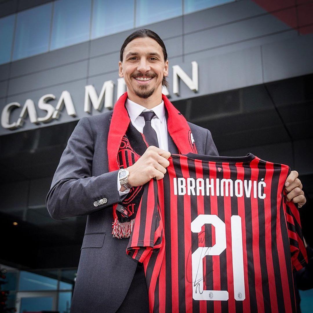 Ac Milan On Instagram Zlatan Izback Home Sempremilan