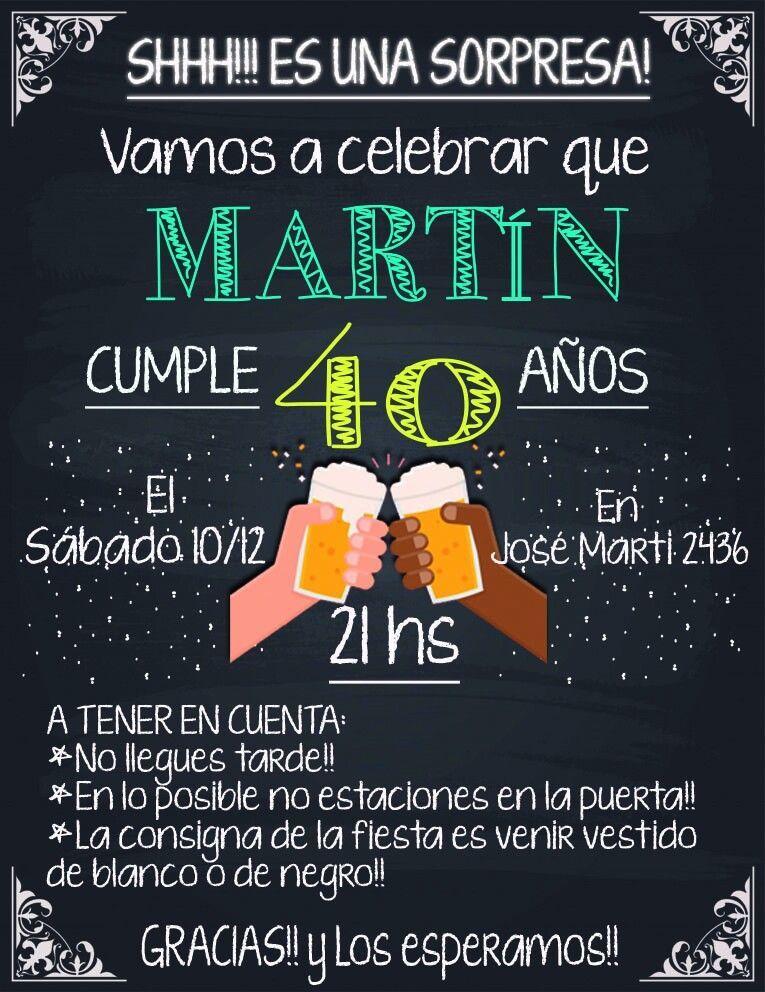 Para Matias Invitaciones De Cumpleaños Originales