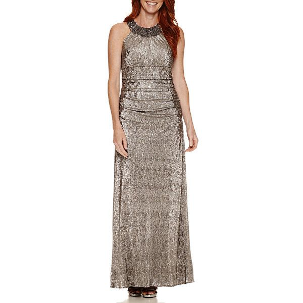 4d701712a Jackie Jon Sleeveless Beaded Evening Gown - JCPenney