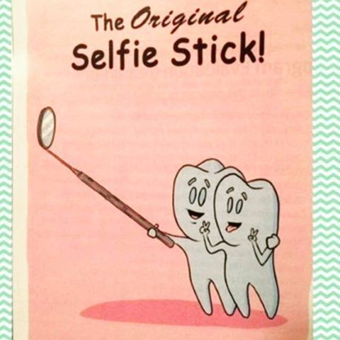 The Original Selfie Stick for Teeth. Have a smiley Monday ...