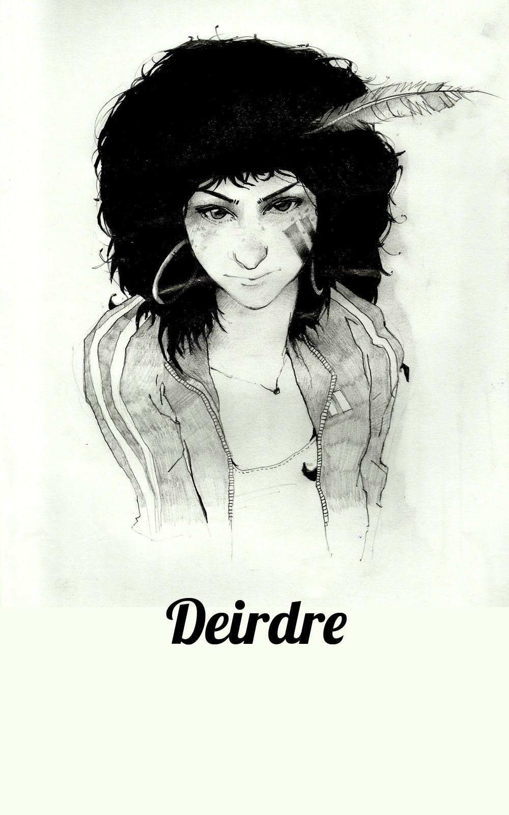 What Deirdre could look like today. Based on 'Dee' from the novel 'It's the stars will be our lamps.'