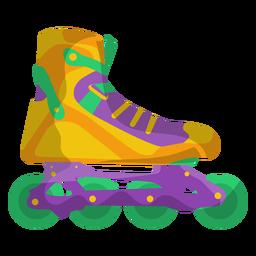 Yellow Roller Skate Shoe In Roller Skate Shoes Roller Skating Skate Shoes